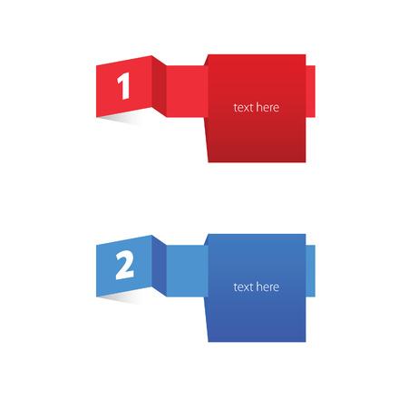 Tag etichetta insieme vettore colore Archivio Fotografico - 43124470