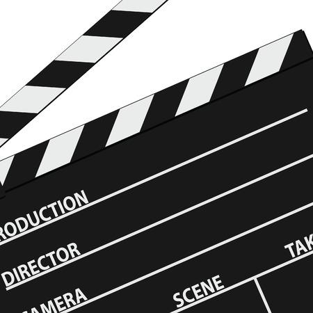 roll film: pel�cula s�mbolo de la cinta vector negro silueta Vectores