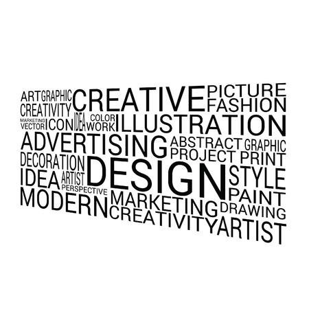 brainy: design word on white background vector art illustration