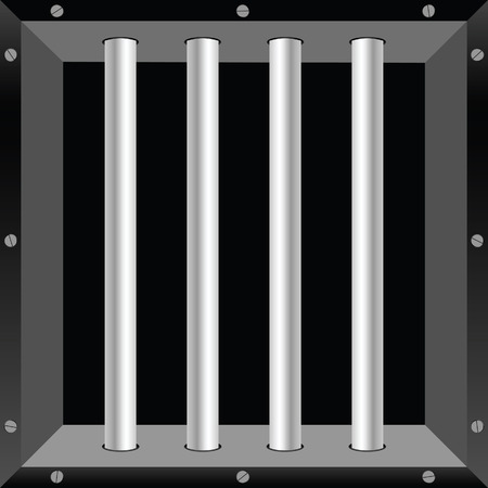 robberies: prison window illustration part two background Illustration
