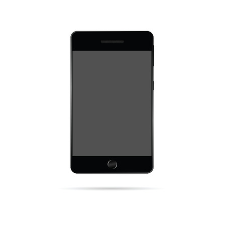 touchphone: mobile phone vector technology illustration