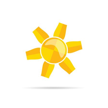 heat: sun illustration heat in colorful
