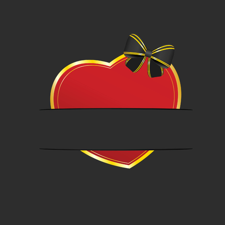 pocket: heart color red illustration in pocket