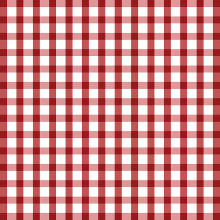 a tablecloth: tablecloth illustration in red and white color