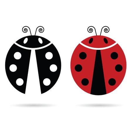 ladybug: ladybug cute illustration in colorful Illustration
