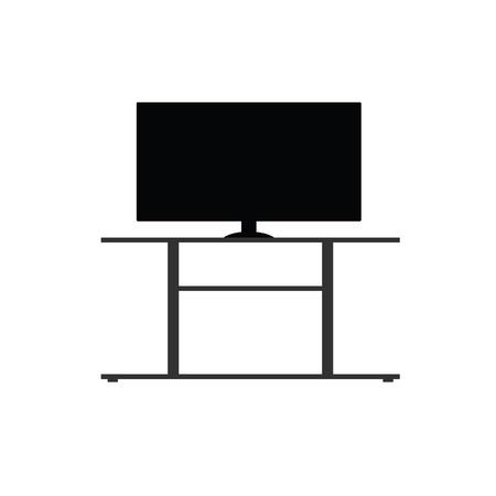 lcd tv screen illustration
