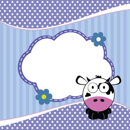 Banner Para Niños Con Animales De La Jirafa En La Ilustración De ...