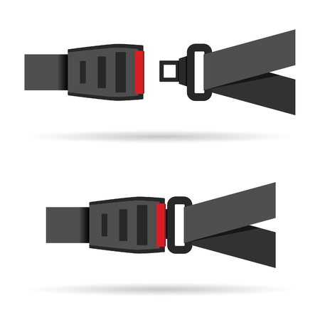 seat belt icon art illustration