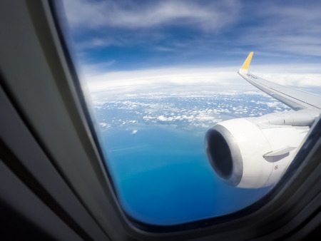 window view: View from window air plan