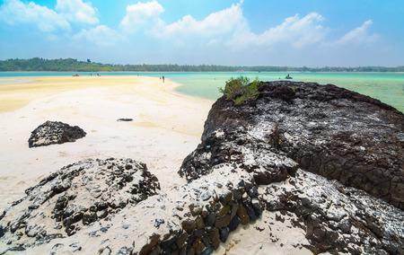 Koh Kharm beauti samall island in thailand Stock Photo