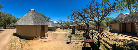 Rest room and Camping area at kruger national park , South africa