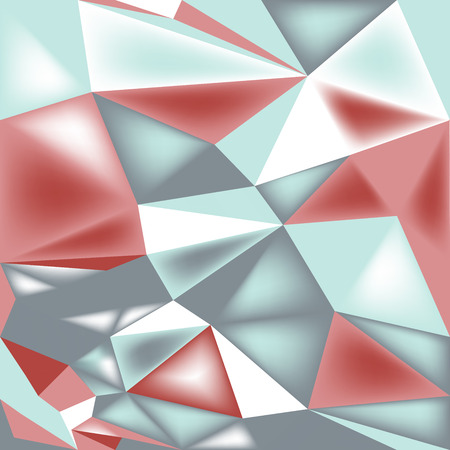 turquise: poly triangle 3d seamless pattern background geometric