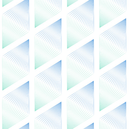 ombre: texture lines triangles background blue green ombre Illustration