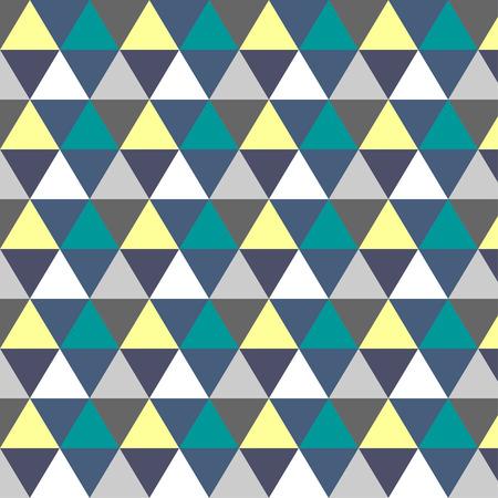 regular: romb pattern  triangle texture yellow green navy