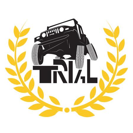 sportcar: trial cars cartoon sketch design print illustration