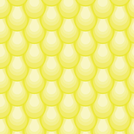 fish skin: Vector pattern drops. Repetition fish skin. Abstract stylish background. Wavy striped geometric mosaic vertical yellow texture.