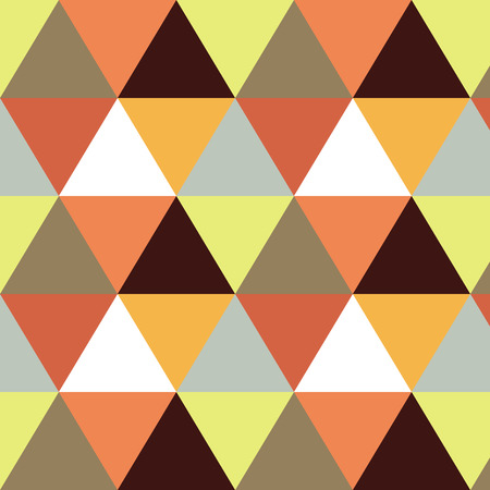 Vector geometric background. Mosaic. Abstract vector Illustration. Rhomb pattern triangle orange texture. Can be used for wallpaper, web page background, book cover.