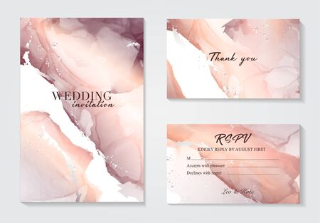 Marble wedding cover background vector set. Marble tender with texture. Modern design background for wedding, invitation, web, banner, card, pattern, wallpaper vector illustration