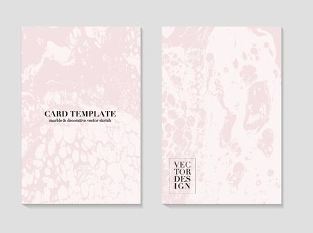 Marble card Abstract Grunge Pattina effect Pastel soft rose Texture wedding invitation. Card template design, pink tender decoration vintage style decoration 2019.