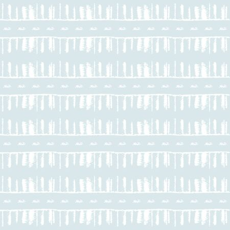 Simple repetiotion design with geo lines and dots. Boho style abstract print. Dynamic tile for fabrics, home decora, mosaic, custom projects. Surface pattern background in blue isolated on white.  イラスト・ベクター素材