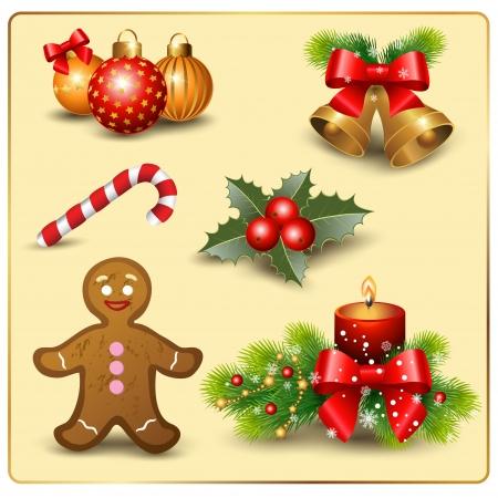 christmas set design elements