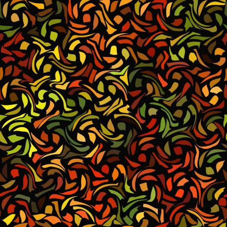 Seamless abstract multicolored pattern. Vector illustration Vector