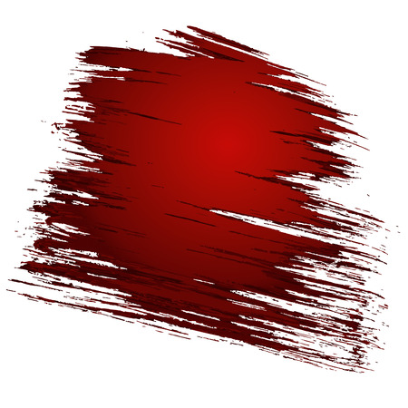 Abstract torn scratched red background. Vector illustration Illustration