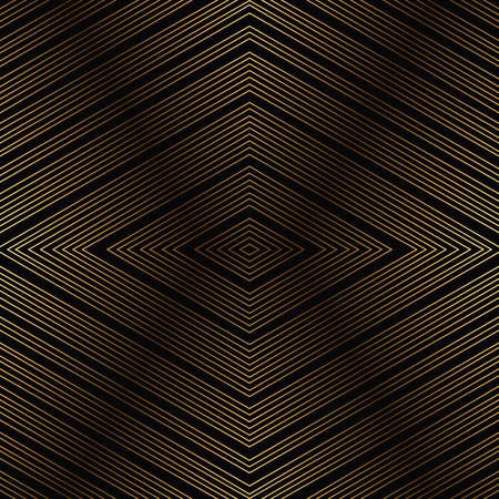 antic: Background with gold rhombuses for rich pattern. Vector illustration