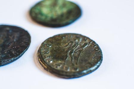 monete antiche: Roman coins. Old coins. Rare. Historical.
