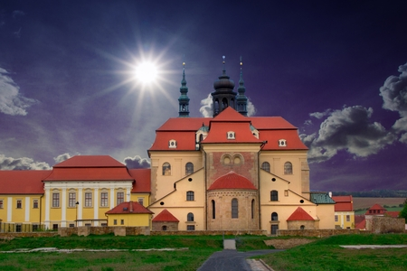 ministration: Basilica of Velehrad national cultural monument, Czech Republic, Europe