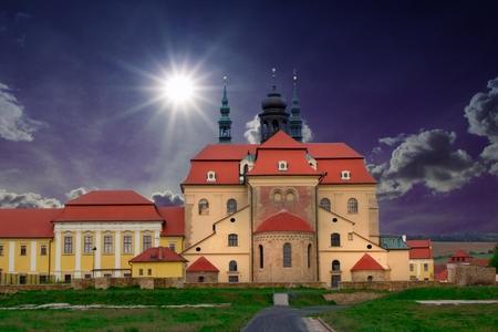 Basilica of Velehrad national cultural monument, Czech Republic, Europe