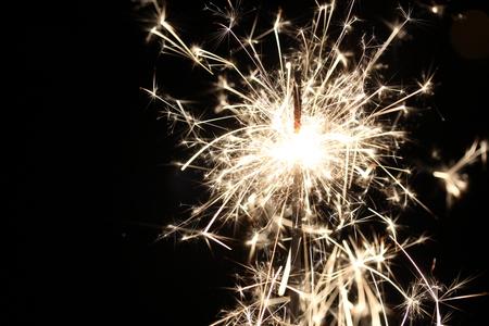 to drown: Fondo colorido del día de fiesta de los sparklers de la Navidad para el Año Nuevo de Navidad