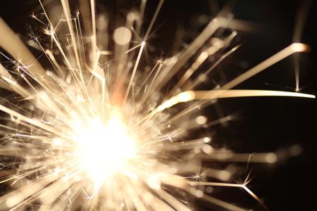 クリスマス新年のクリスマス花火休日背景