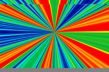 luster: Colorful rays golden ratio.