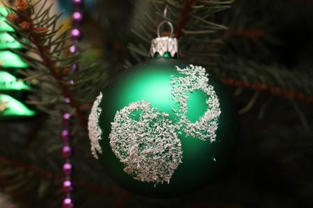 Christmas tree decoration. Stock Photo