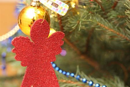 embellishment: Christmas tree decoration. Stock Photo