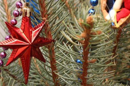 Christmas tree decoration. 版權商用圖片