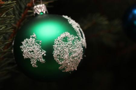 Decoration hanging on Christmas tree Photo of Czech Republic Europe