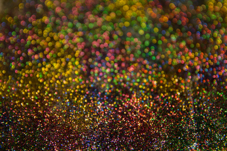 Magic colors of Christmas atmosphere shining into the space