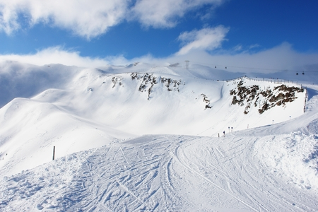 rauris: Rauris, ski resort in the Austrian Alps