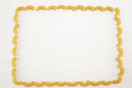 noodles frame Stock Photo