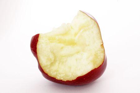 bit apple Stock Photo