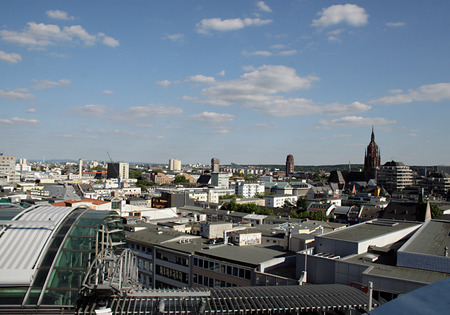 Frankfurts panorama
