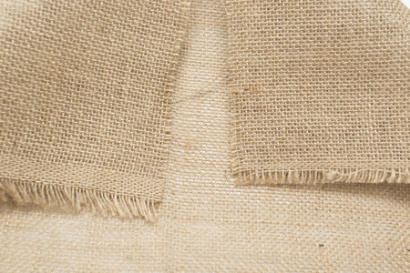 fibra: texture of jute caanvas Stock Photo