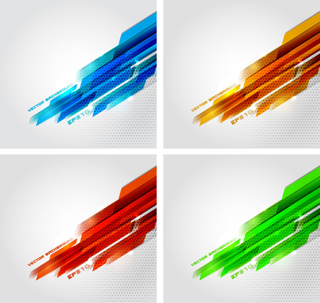 vector banner: Abstract banner  vector background eps10