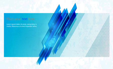 abstract business: Vector abstract business background Template brochure design