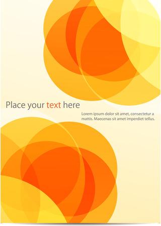 光ベクトルの背景の要約を抽象的な光のベクトルの背景