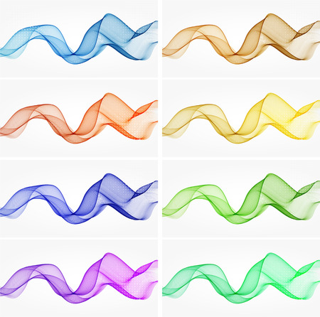 abstract smoke: Abstract color wave design element smoke,glow