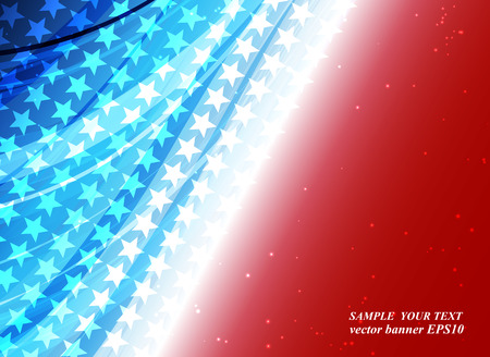 abstract background of the American flag,symbol united 向量圖像