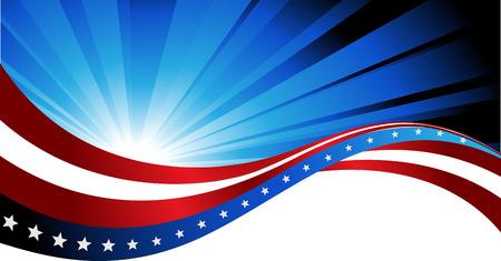 fundo abstrato da bandeira americana, s